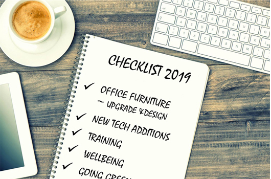 Your 2019 checklist to improve your work environment