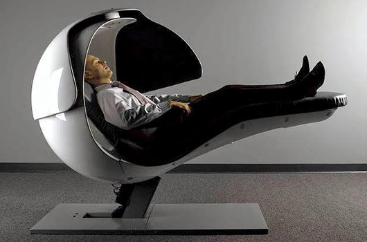 Energizing Nap Pod to boost your productivity