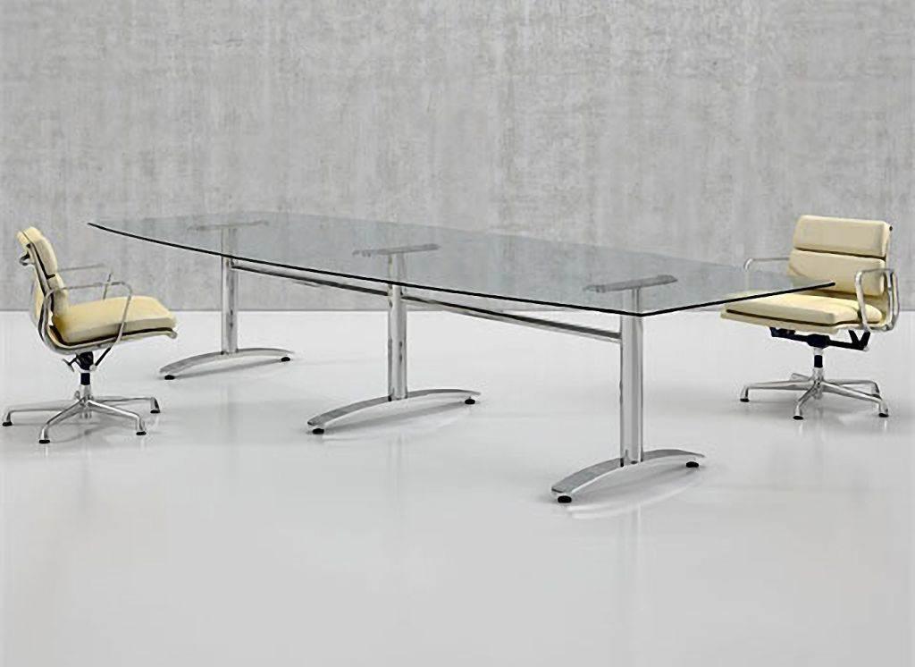 Oxford Boardroom Table - Glass boardroom table