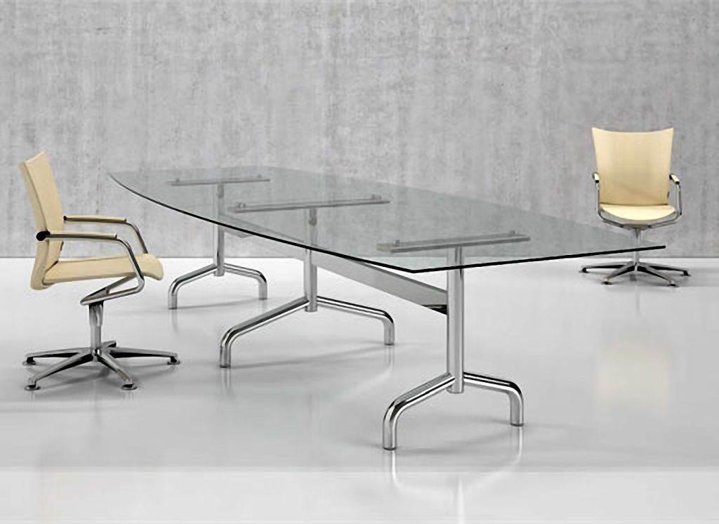 Glass Boardroom Tables Range B - Glass boardroom table